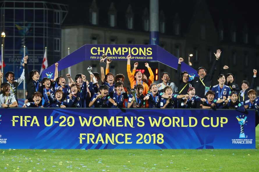 "U-20女子ワールドカップで優勝した""ヤングなでしこ""【写真:Getty Images】"