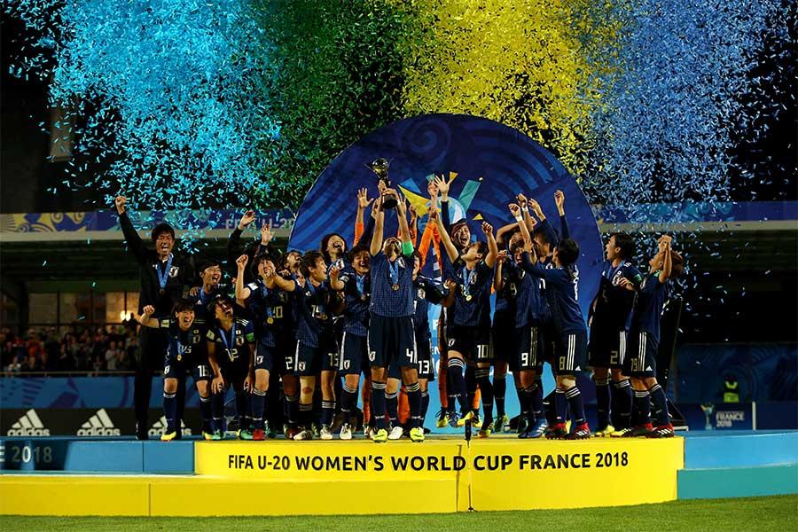U-20女子W杯初優勝を飾ったヤングなでしこ【写真:Getty Images】