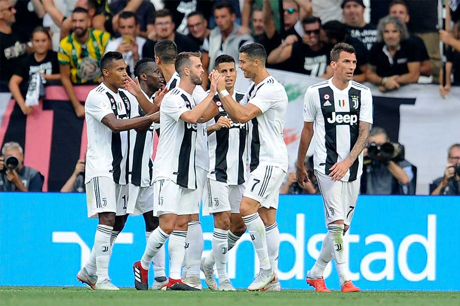 ユベントスがラツィオに2-0勝利で開幕2連勝【写真:Getty Images】