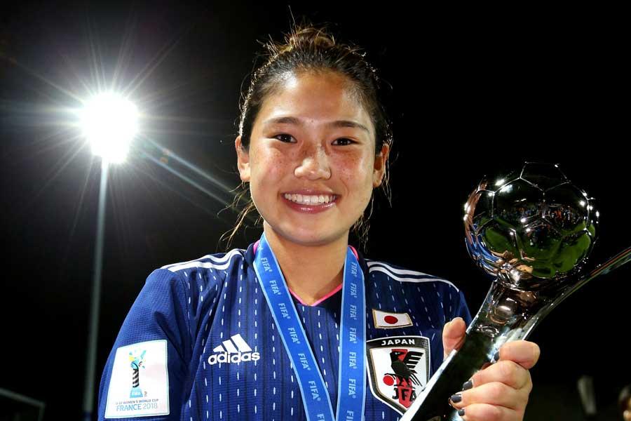U-20日本女子代表10番MF長野【写真:Getty Images】