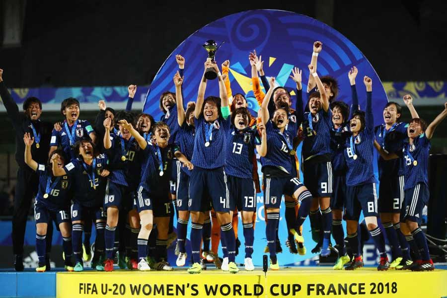 U-20女子W杯で初優勝を飾ったヤングなでしこ【写真:Getty Images】