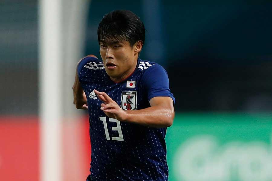 U-21日本代表が岩崎の2ゴールでベスト4進出を決めた【写真:Getty Images】