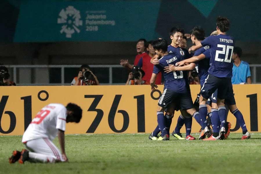 U-21日本代表、アジア大会決勝進出!【写真:AP】