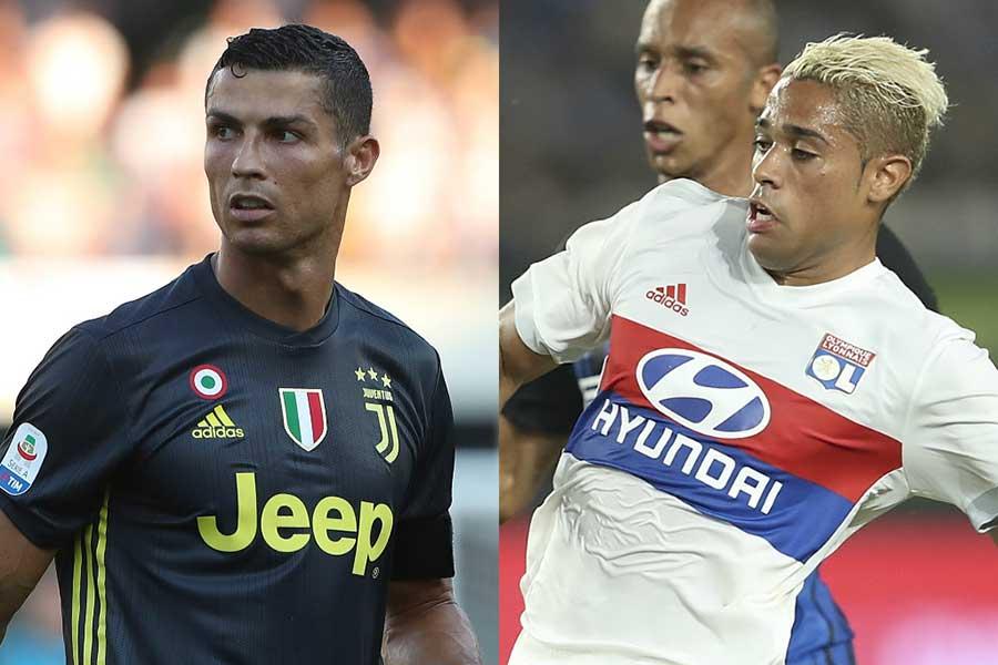 ロナウド(左)が背負っていたレアルの7番をマリアーノが引き継ぐようだ【写真:Getty Images】