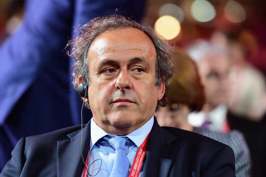 元フランス代表MFのミシェル・プラティニ氏【写真:Getty Images】