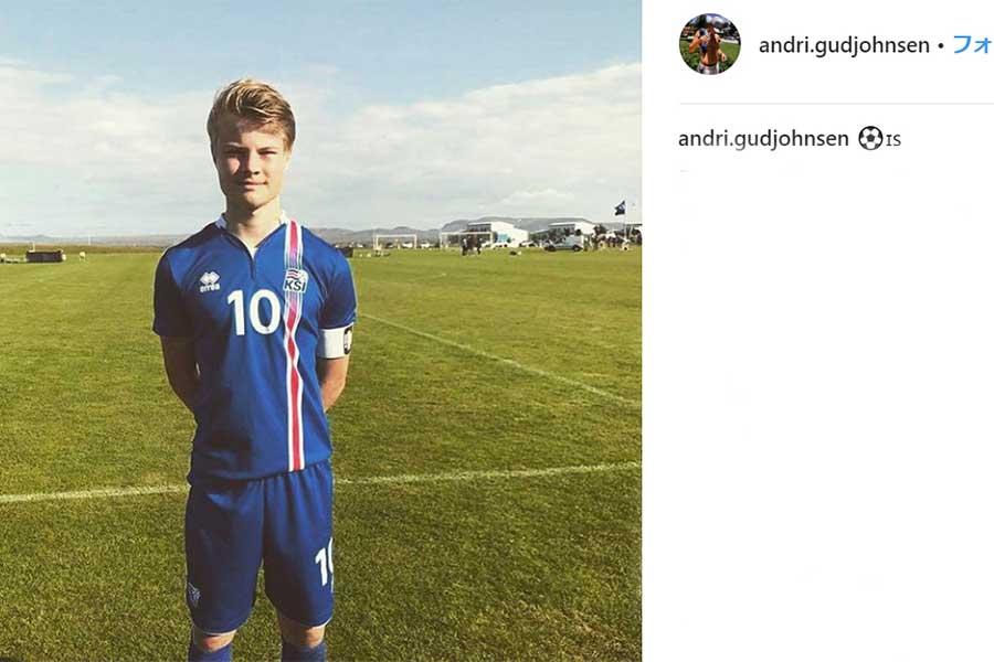 アンドリ・ルーカスがレアルの下部組織と契約【写真:インスタグラムのスクリーンショットです】