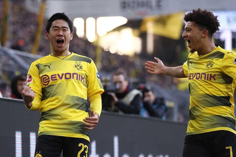 ドイツで最も好かれているクラブが、香川が所属するドルトムントであることが判明した【写真:Getty Images】