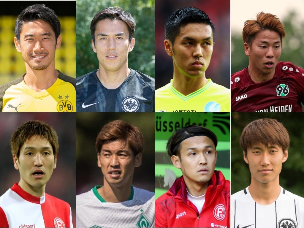 ブンデスリーガ開幕戦予想に見る「日本人8選手の序列」は?【写真:Getty Images】