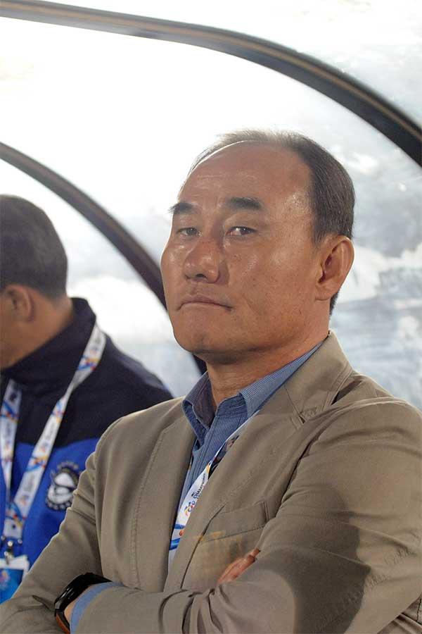 U-23韓国代表を率いるキム・ハクボム監督【写真:Getty Images】