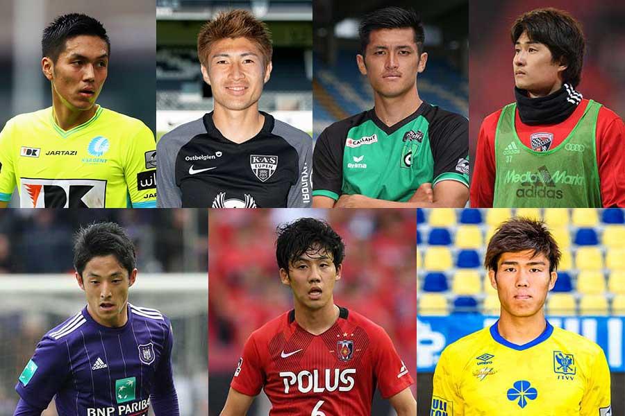 ベルギーリーグに所属する日本人選手【写真:Getty Images】