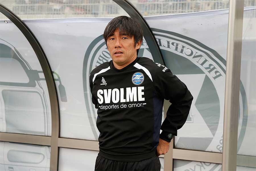 FC町田ゼルビアを率いる相馬監督【写真:Getty Images】