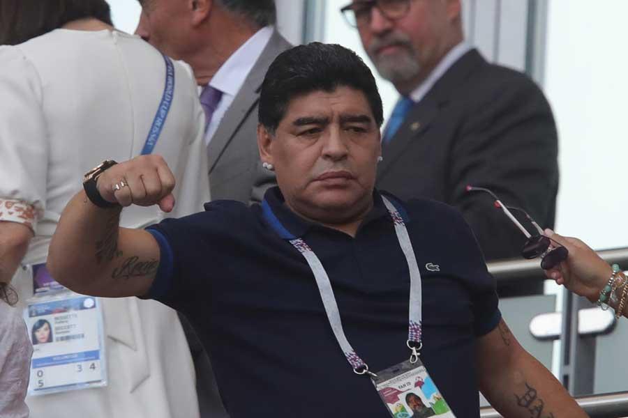 アルゼンチンの英雄ディエゴ・マラドーナ氏【写真:Getty Images】