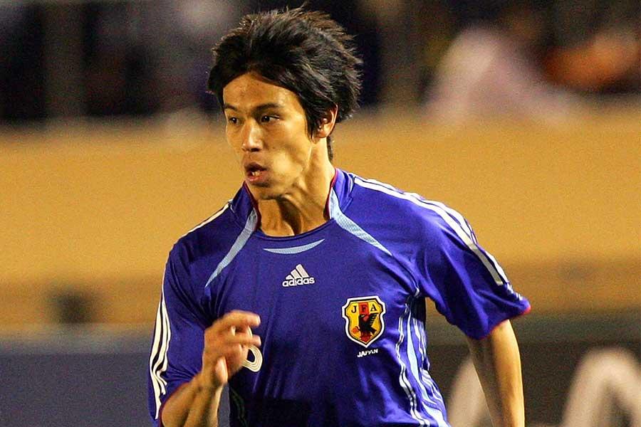 メルボルン・Vは、本田が21歳の時に決めてファンに衝撃を与えた魔球FKの動画を公開した【写真:Getty Images】