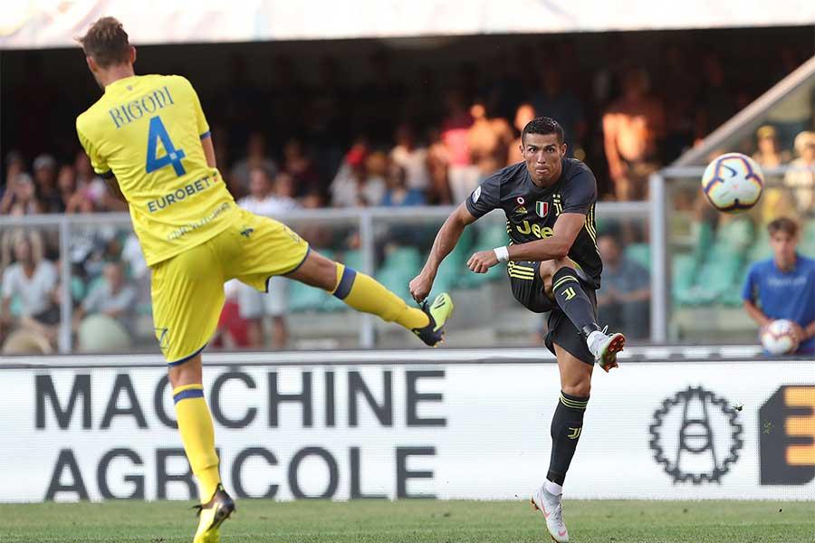 C・ロナウドにイタリア初ゴールは生まれなかった【写真:Getty Images】