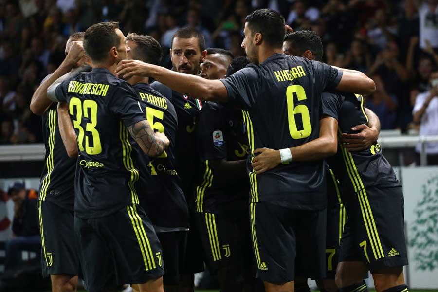 王者ユベントス、セリエA復帰パルマに2-1勝利で開幕3連勝【写真:Getty Images】