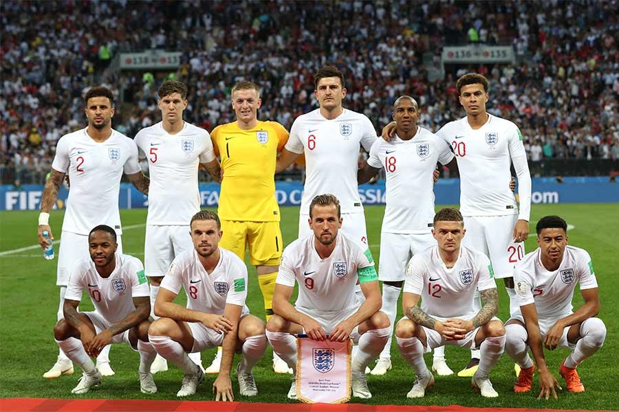 イングランド代表【写真:Getty Images】