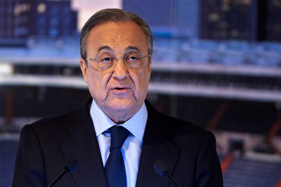レアル・マドリードのペレス会長【写真:Getty Images】
