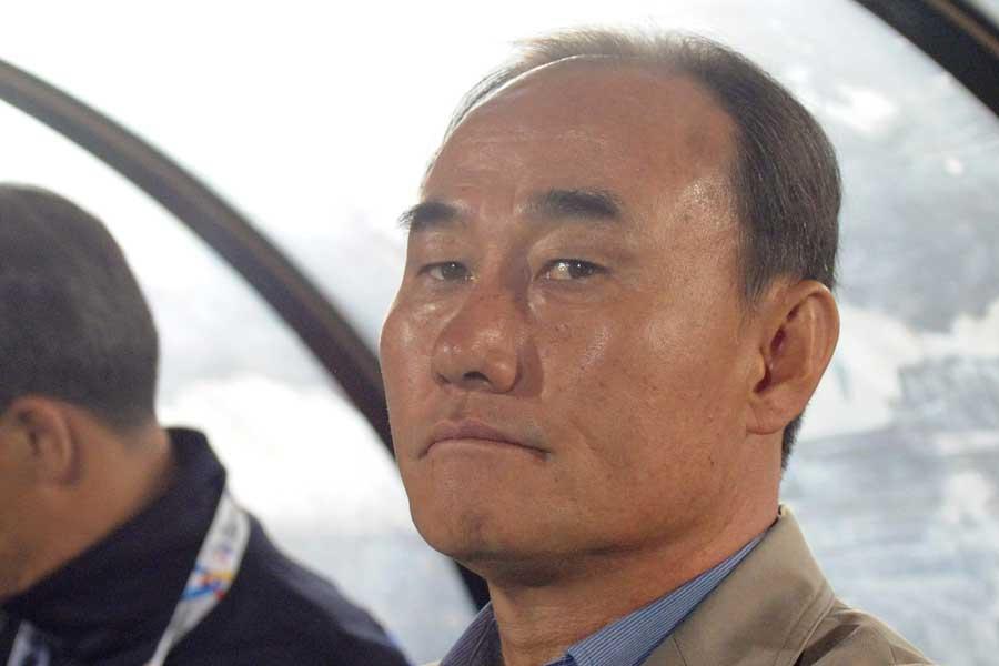 U-23韓国代表のキム・ハクボム監督【写真:Getty Images】