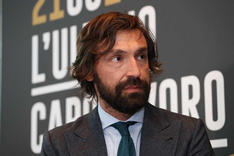 元イタリア代表MFのピルロ氏【写真:Getty Images】