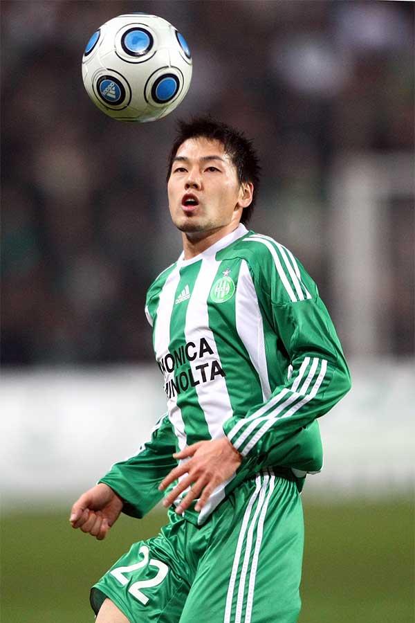 松井大輔は2008-09シーズンに古豪サンテティエンヌでEL出場を果たした【写真:Getty Images】