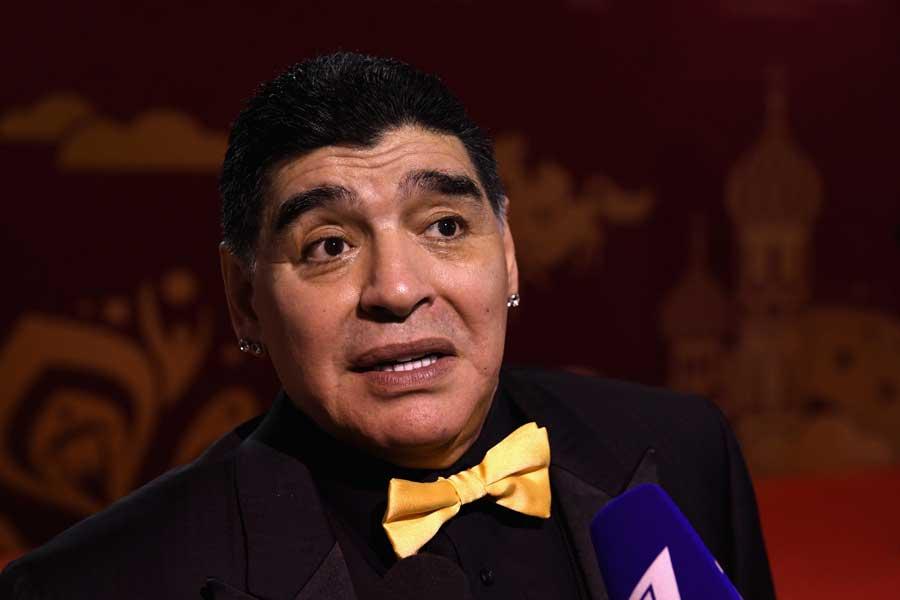 メキシコ2部ドラドス・シナロアの監督に就任したマラドーナ【写真:Getty Images】
