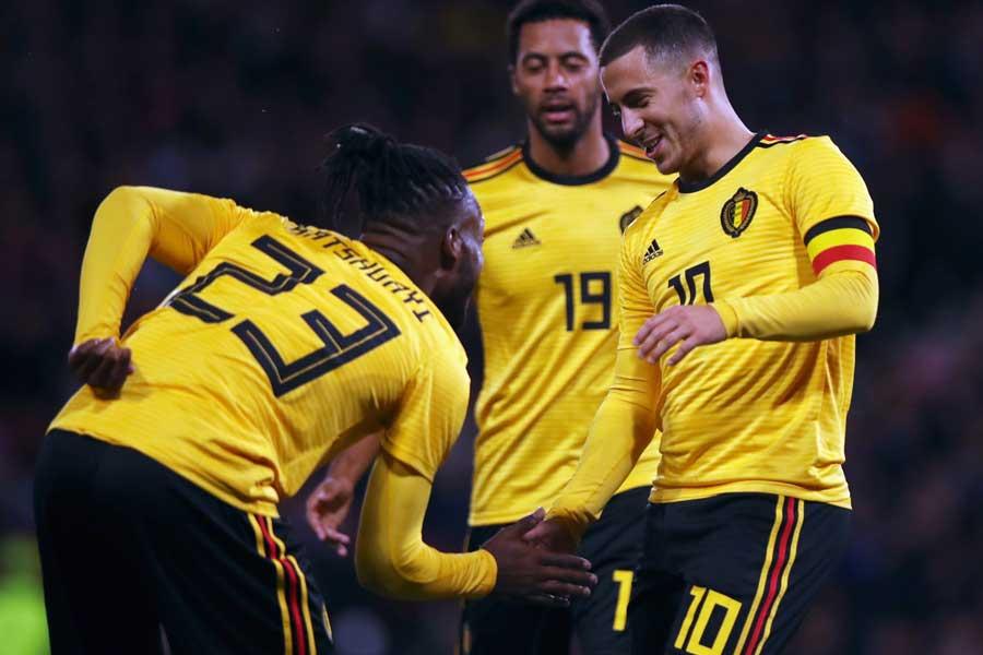 ベルギーはスコットランド相手に快勝を飾った【写真:Getty Images】
