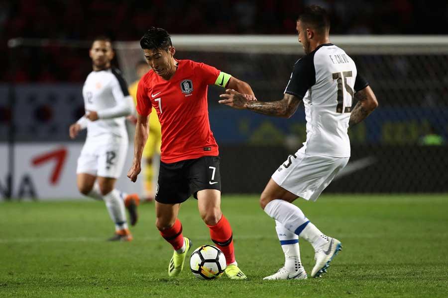 韓国はコスタリカ相手に2-0で快勝した【写真:Getty Images】