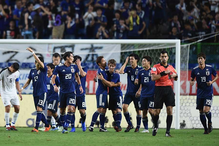 日本3-0コスタリカ