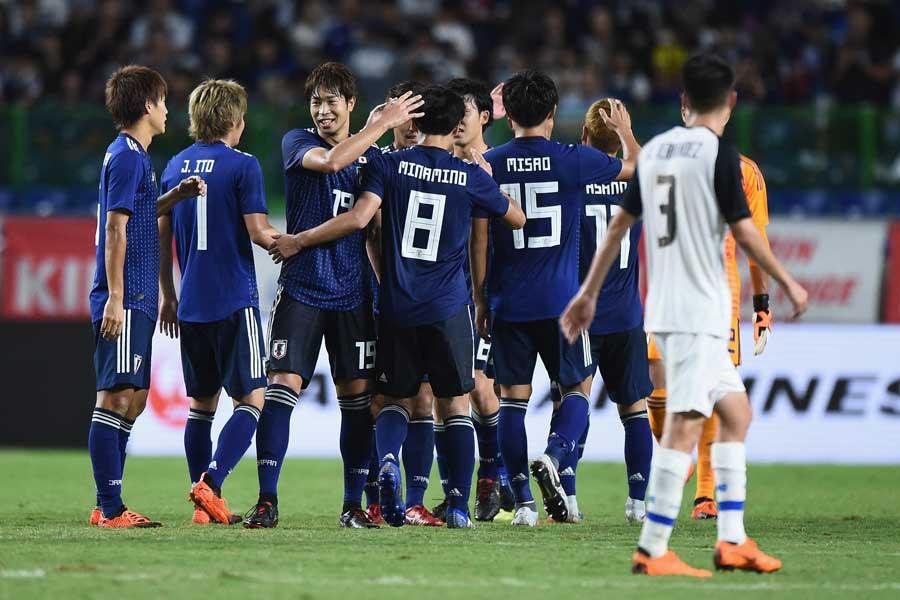 日本代表はコスタリカに3-0で快勝した【写真:Getty Images】