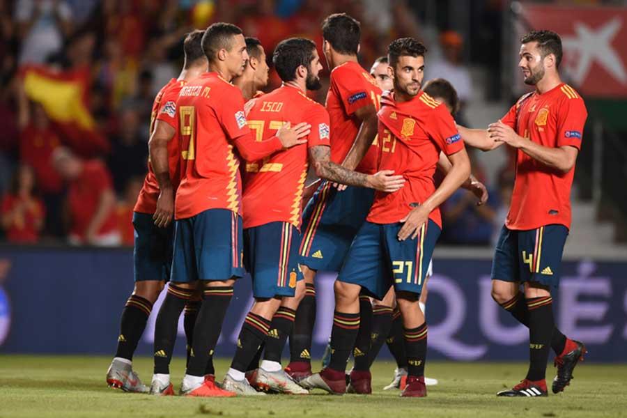 スペインがクロアチア相手6-0で圧勝した【写真:Getty Images】