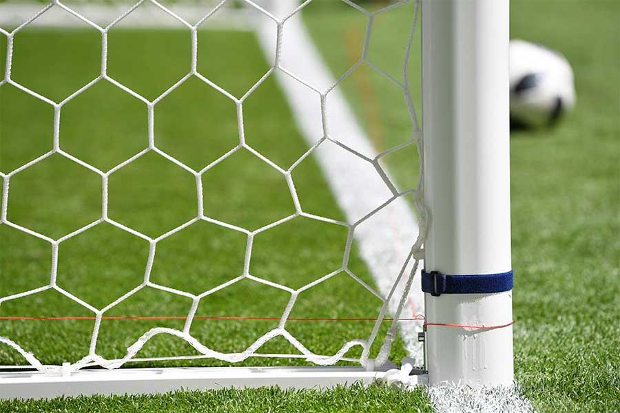 サウジアラビア1部でゴールライン上に倒れた選手が味方のゴールを阻止するという珍しいシーンが生まれた(写真はイメージです)【写真:Getty Images】