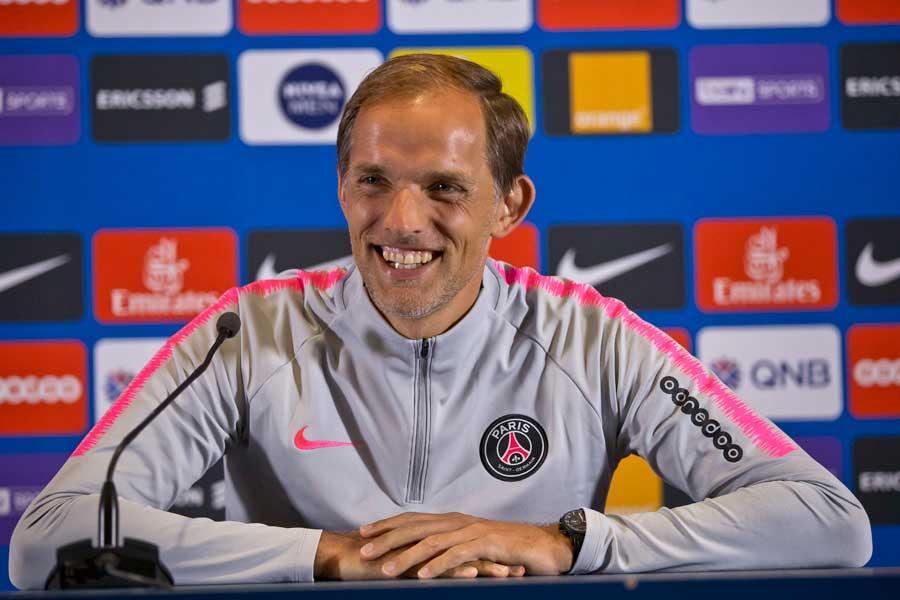 PSG率いるトーマス・トゥヘル監督、就任1年目に開幕5連勝というクラブ史上初の快挙を成し遂げた【写真:AP】