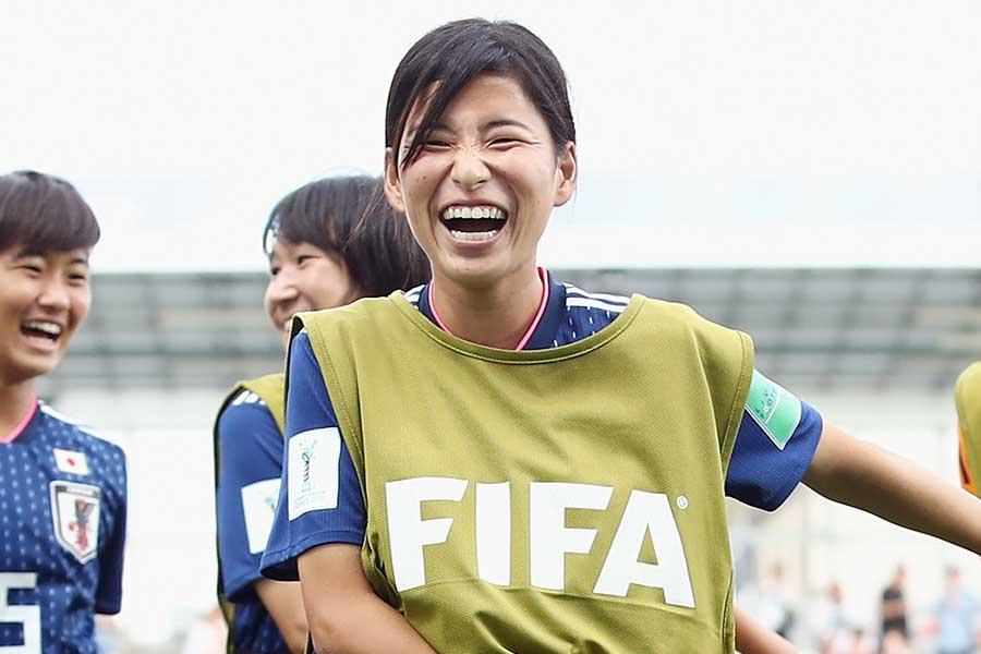 U-20女子W杯優勝メンバーのMF福田ゆい【写真:Getty Images】