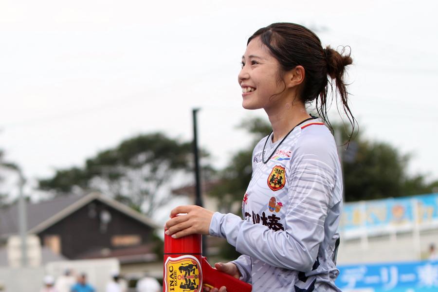 INAC神戸レオネッサのMF伊藤美紀【写真:Football ZONE web】