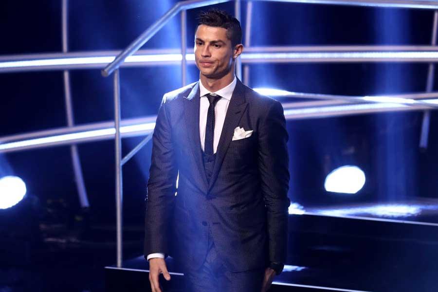 FIFAの年間表彰式を欠席したC・ロナウド(写真は昨季の表彰式のもの)【写真:Getty Images】