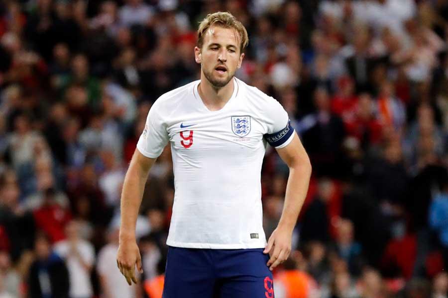 イングランド代表FWハリー・ケイン【写真:AP】