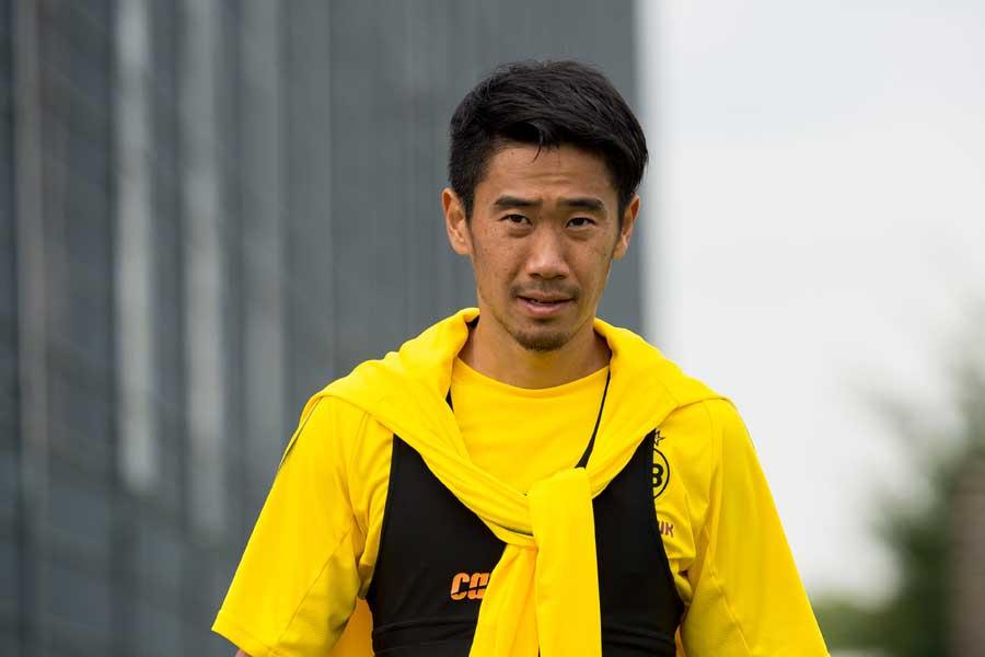 今季まだクラブで出場機会のないドルトムントのMF香川真司【写真:Getty Images】