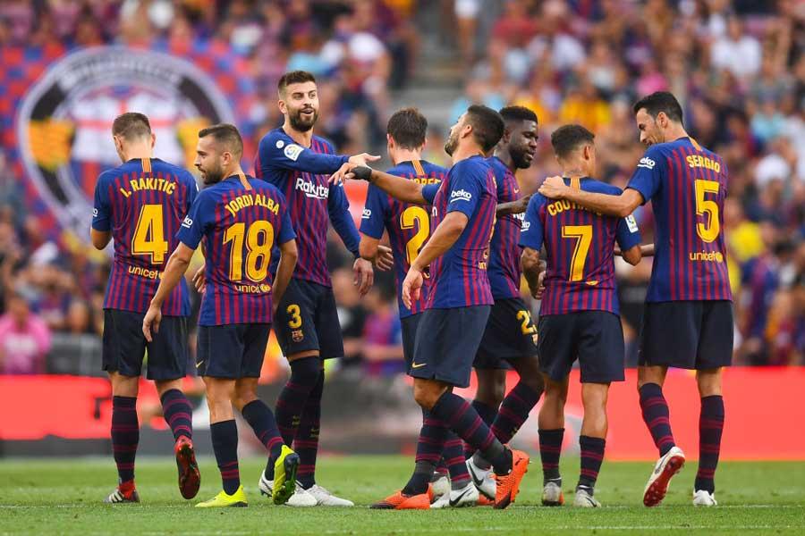 スペインの名門FCバルセロナ【写真:Getty Images】