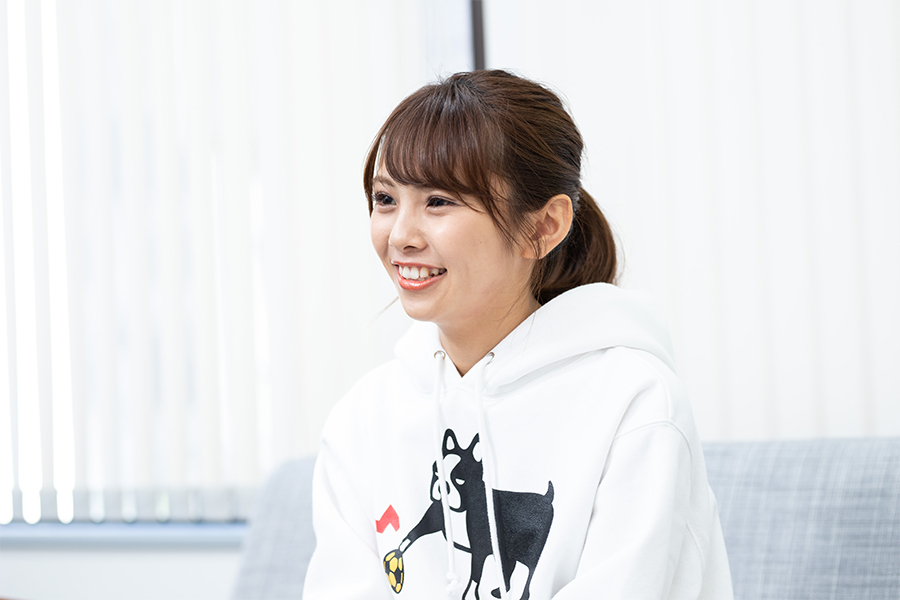 NMB48の磯佳奈江さん【写真:荒川祐史】