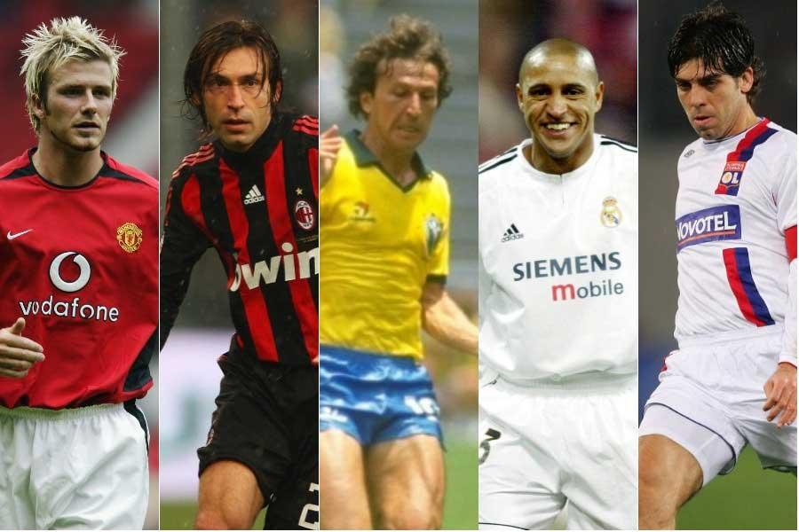 「偉大なFK名手10人」をスペイン紙が選出【写真:Getty Images】