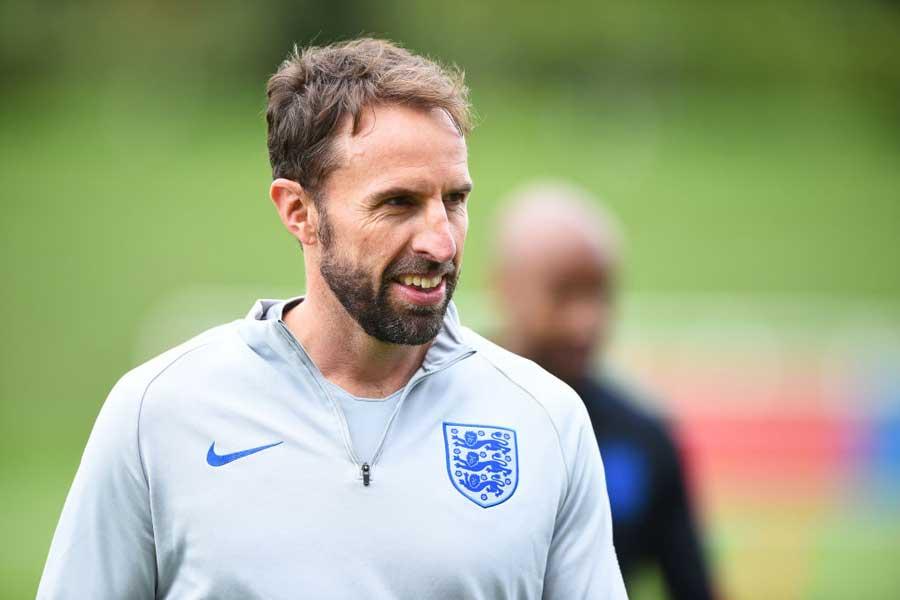 イングランド代表率いるギャレス・サウスゲイト監督【写真:Getty Images】