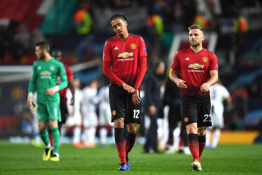 欧州サッカー連盟(UEFA)は、現地時間24日にマンチェスター・ユナイテッドに対して処分を科す可能性があることを発表した【写真:Getty Images】