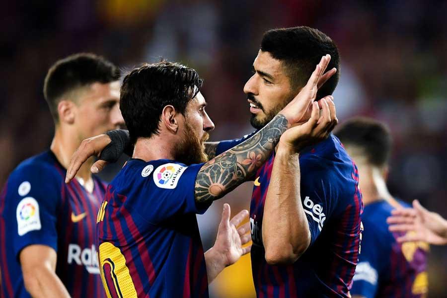 公式戦3試合勝利なし(2分1敗)と低空飛行が続くバルセロナ【写真:Getty Images】