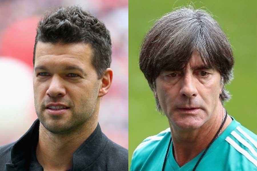 元ドイツ代表のバラック氏(左)がドイツ代表のレーブ監督について言及した【写真:Getty Images】