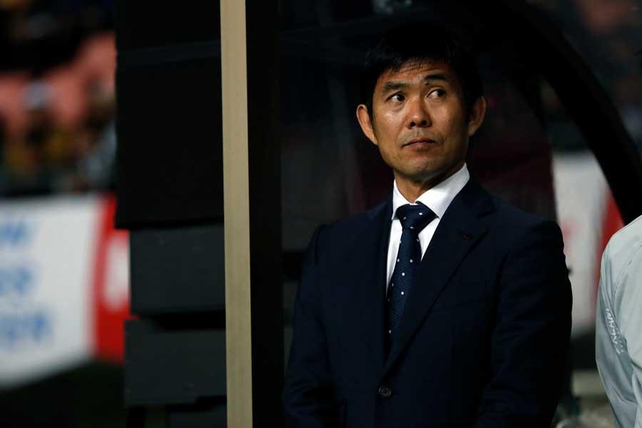 日本代表を率いる森保一監督【写真:田口有史】