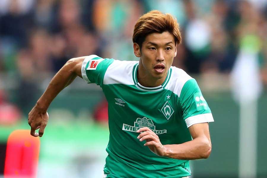 今季、FCケルンからブレーメンに移籍加入した大迫勇也【写真:Getty Images】