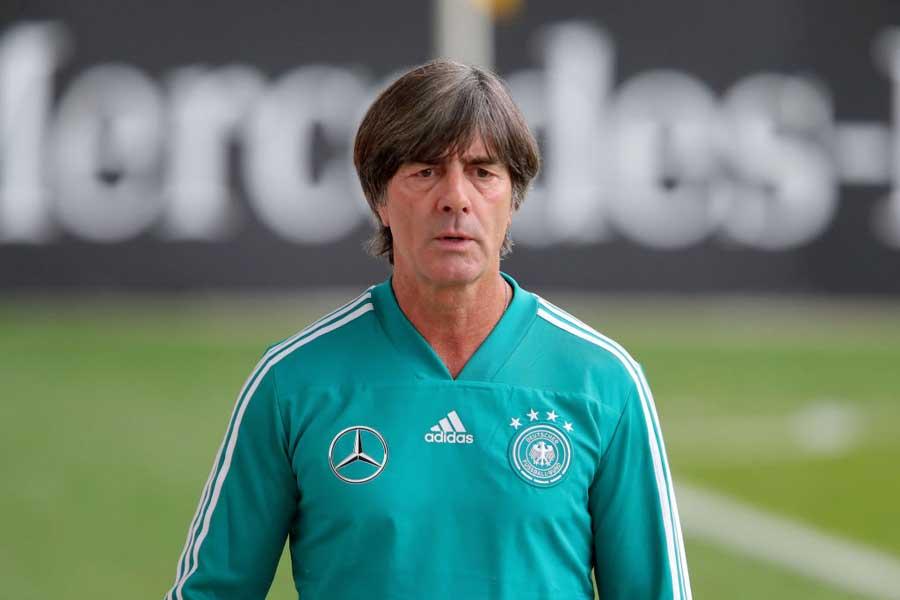 ドイツ代表を率いるヨアヒム・レーブ監督【写真:Getty Images】
