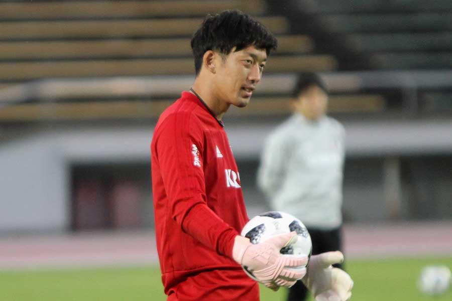 日本代表GK権田【写真:Football ZONE web】