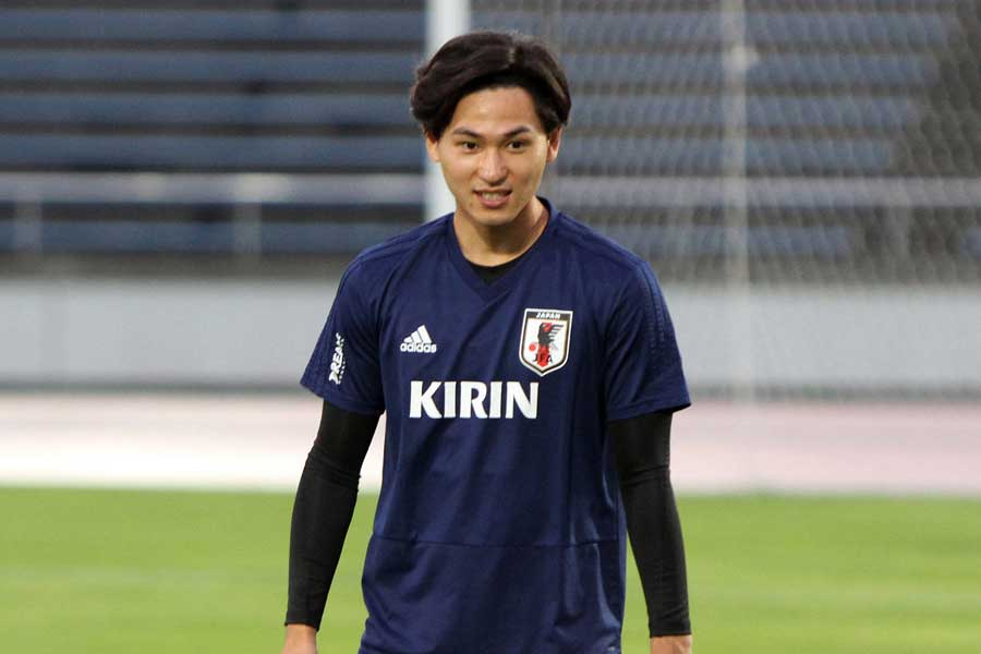 日本代表MF南野【写真:Football ZONE web】