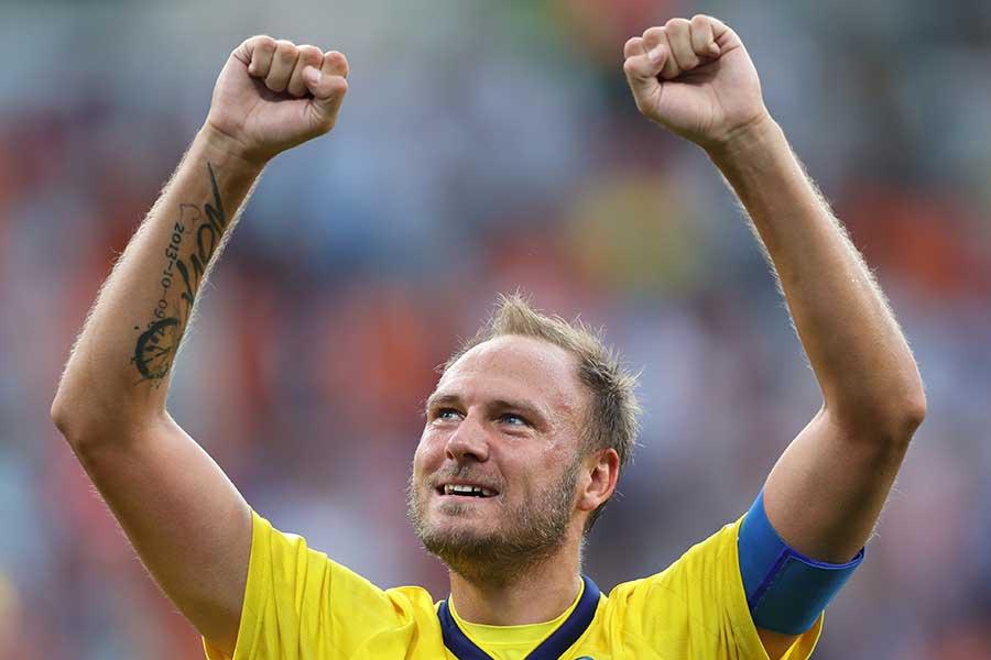 スウェーデン代表DFグランクビスト【写真:Getty Images】